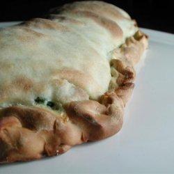 Spinach and Ricotta Calzone recipe
