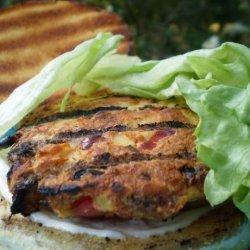 Super Healthy Tuna Burgers With Lemon Garlic Mayonnaise recipe