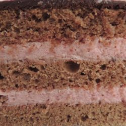 Chocolate Raspberry Mousse Cake recipe