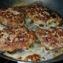 Greek Lamb Patties recipe