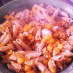 Butternut Squash and Chicken Pasta recipe