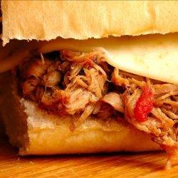 Crock Pot Pork Sandwiches recipe