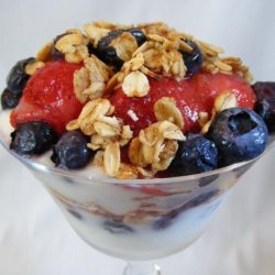 Yogurt Berry Parfaits recipe