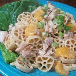 BBQ Pasta salad recipe