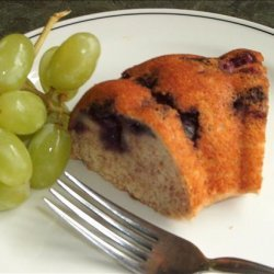Blueberry Cinnamon Coffee Cake recipe