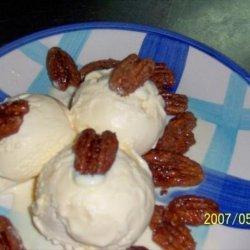 Sugar Coated Pecans recipe