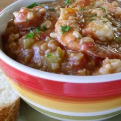 Shrimp & Andouille Sausage Jambalaya recipe