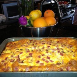 Cheesy Egg Casserole recipe