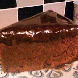 Almond Chocolate Cake with Ganache recipe