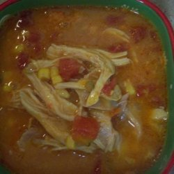 Hearty Chicken Enchilada Soup recipe