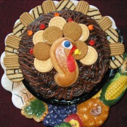 No Bake Turkey Cake recipe