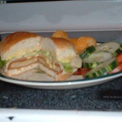 Cordon Bleu Sandwiches recipe