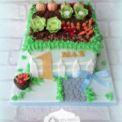 Garden Patch Cake recipe