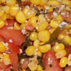 Corn and Tomato Salsa With Cilantro recipe
