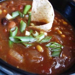 Crock Pot Beef, Bean & Bacon Soup recipe