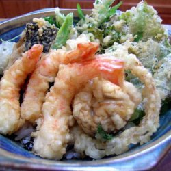 Tempura Donburi - Tendon - Tempura Rice Bowl recipe