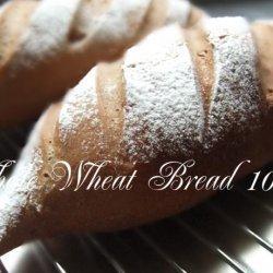 Whole Wheat Bread 100% recipe