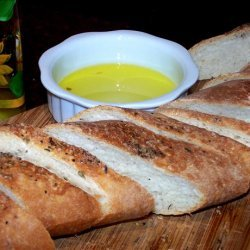 French Bread With Roasted Garlic and a Hint of Lavender!!! recipe