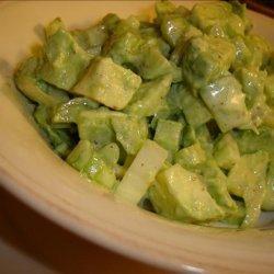 Celery and Avocado Salad recipe
