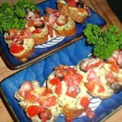 Roasted Garlic Bruschetta recipe