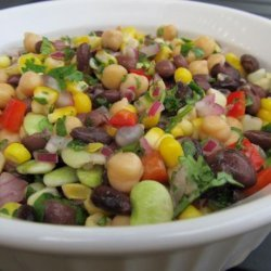 South-West Salad With Corn and Black Beans recipe
