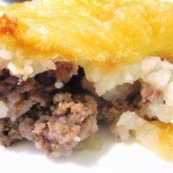 Batata Merhiya (Algerian Mashed Potatoes Layered With Beef ) recipe