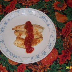 Tilapia with Salsa Butter recipe