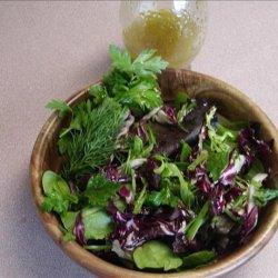 Truffle Dressing/ Herb Salad recipe