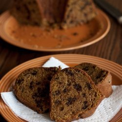 Chocolate Chocolate Chip Cake recipe