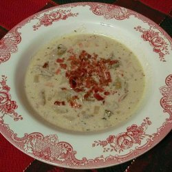 Oyster Cream Soup recipe