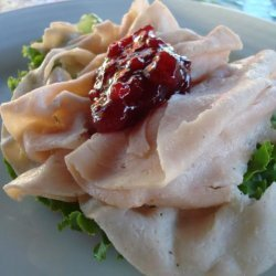 Turkey and Lingonberry Open Faced Sandwiches recipe