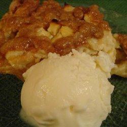 Apple Sour Cream Pie recipe