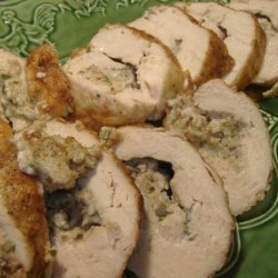 Chicken Americana With Wisconsin Bleu Cheese recipe