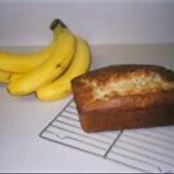 Banana Cream Cheese Bread recipe