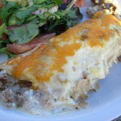 Sour Cream Beef Enchiladas recipe