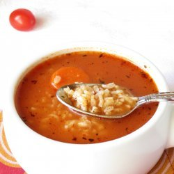 Tomato Rice Soup recipe