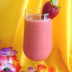 Non alcoholic strawberry colada recipe