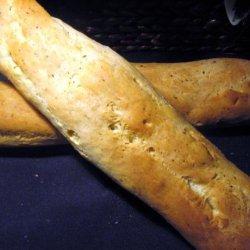 Romano Oregano Bread (Abm) recipe