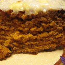 Pumpkin Raisin Bars recipe