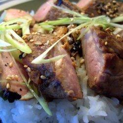 Butterflied Korean Pork Tenderloin recipe