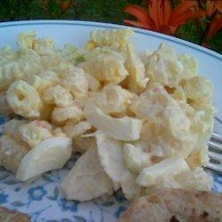 Creatively Delicious Seafood Pasta Salad recipe
