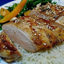 Grilled Teriyaki Chicken (Rachael Ray) recipe