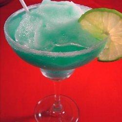 Blue Lagoon Margarita recipe