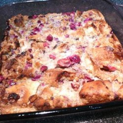 Cranberry Bread Pudding recipe
