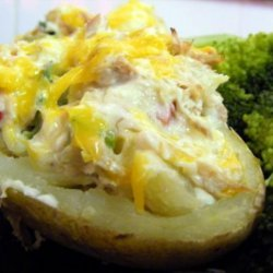 Tuna Stuffed Potatoes recipe