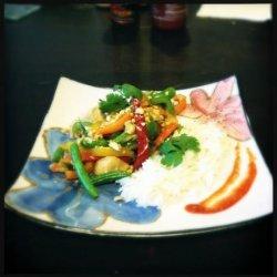 Thai Chicken and Vegetable Stir-fry recipe