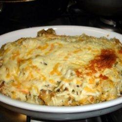 Easy Cheesy Chicken & Veggie Gnocchi Bake recipe