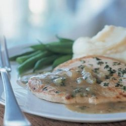 Turkey Cutlets With Pan Gravy recipe