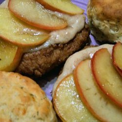 Pork Chops With Fried Apples recipe