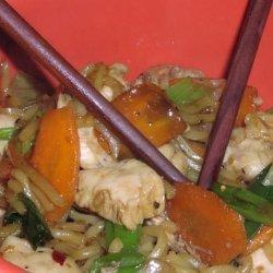 Teriyaki Chicken and Noodles recipe
